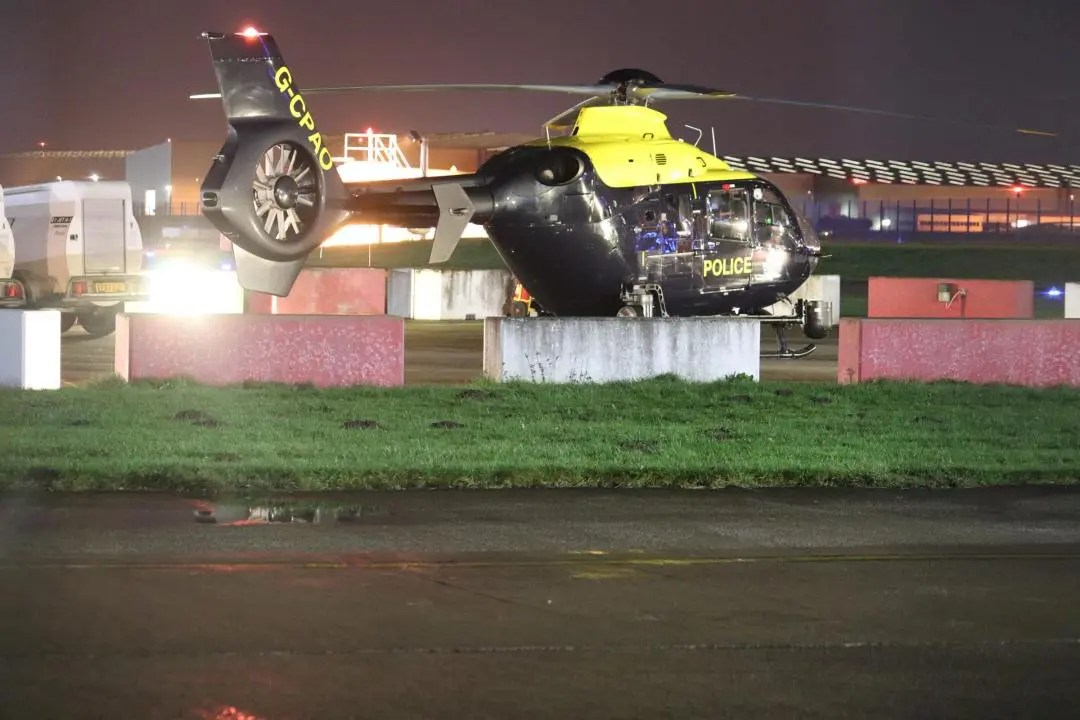 National Police Air Service Helicopter