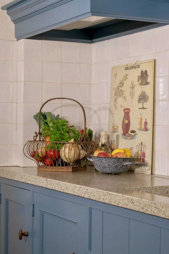 Houten keuken Hooge Zwaluwe groente fruit