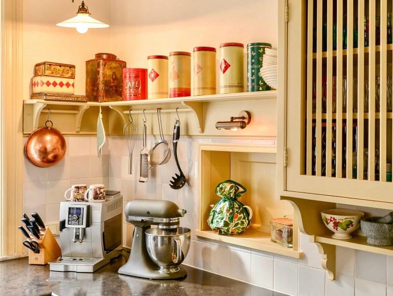 Nostalgische keuken Hilvarenbeek keukenapparatuur