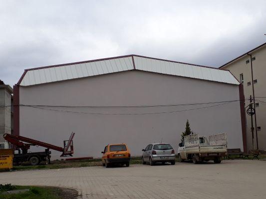 Sandwiç Panel Çatı Uygulaması