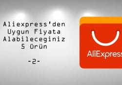 Aliexpress'den Uygun Fiyata Alabileceğiniz 5 Kaliteli Ürün -2-