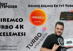 Gelmiş Geçmiş En İyi Turbo IPTV – Hiremco Turbo 4K İncelemesi
