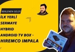 İlk Yerli Sermaye Hybrid Android TV Box – Hiremco impala