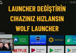 Mi box – Mi Stick- Shield- Fire tv – Chromecast 2020 Launcher Değiştirme