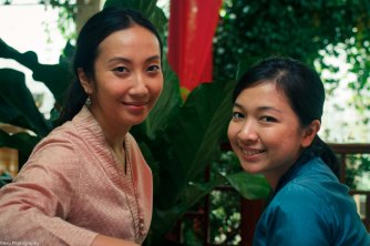 Sari and Cici. I shot Cici's wedding last year.. the photos of her wedding reception are in this blog too!