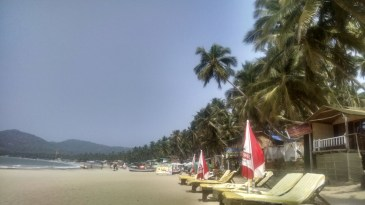 Afternnon view of Palolem Beach