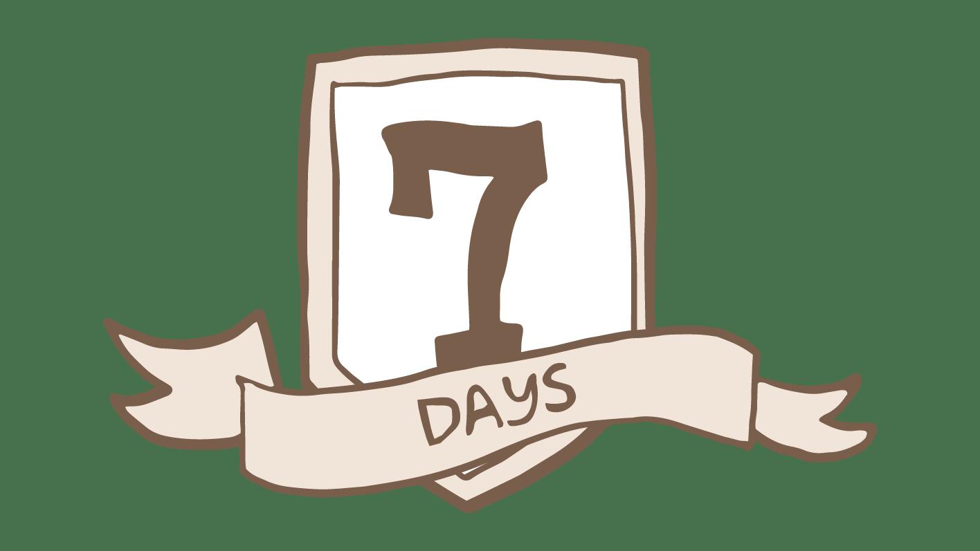 七天滿意保證