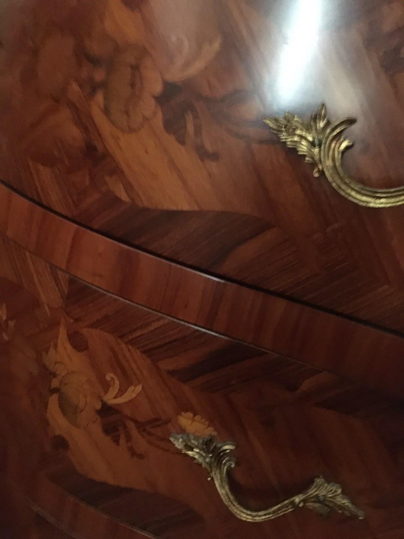 Commode bois de rose Louis XV