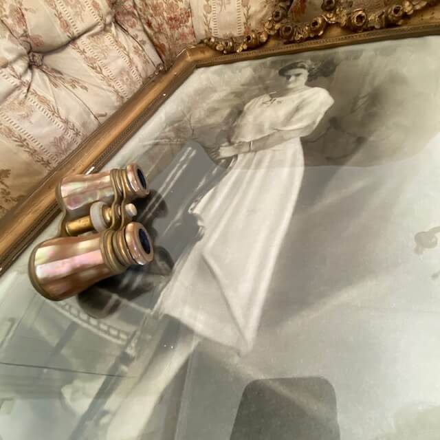 Jumelles de Theatre Nacre et bronze doré merveilles de marie Lyon