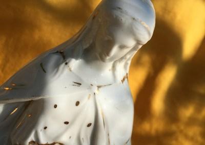 Vierge porcelaine de Limoges