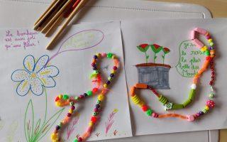 dessin enfant et collier immunité