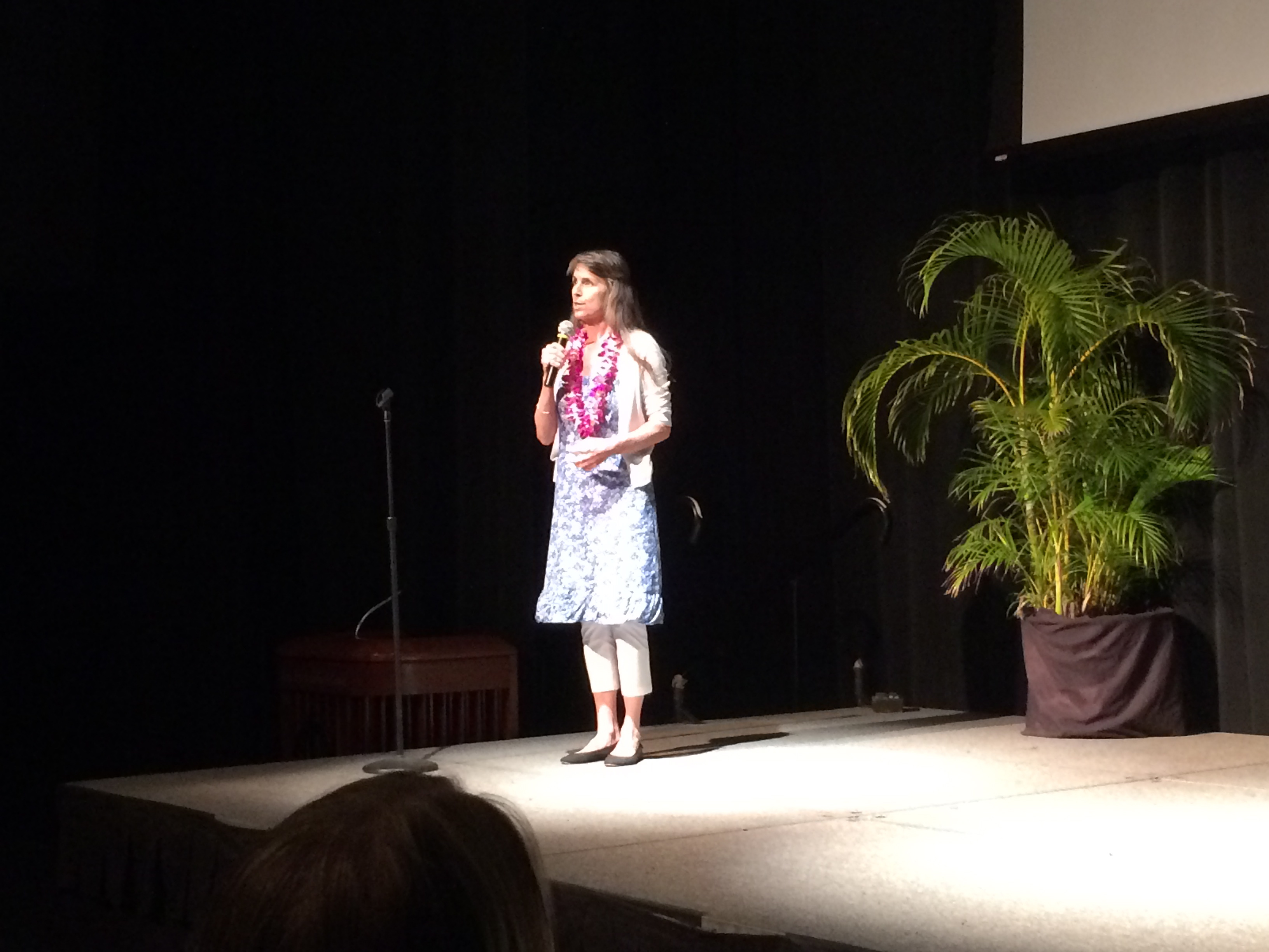 Deborah Koons Garcia introduces Symphony of the Soil in The Green Room