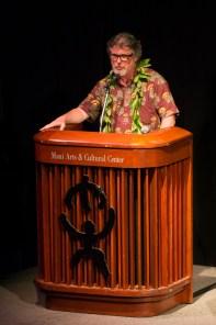 Poet Bob Holman offers a W.S. Merwin poem