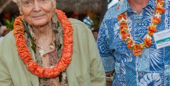 W. S. Merwin Receives Hawaii Conservation Award – 2015 Champion of the Land