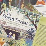 Book Cover for The Poem Forrest by Carrie Fountain and Chris Turnham
