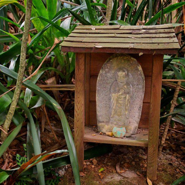 Buddha along the path
