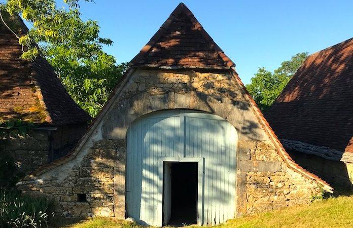 W.S. Merwin's barn in France, photo by Michael Wiegers