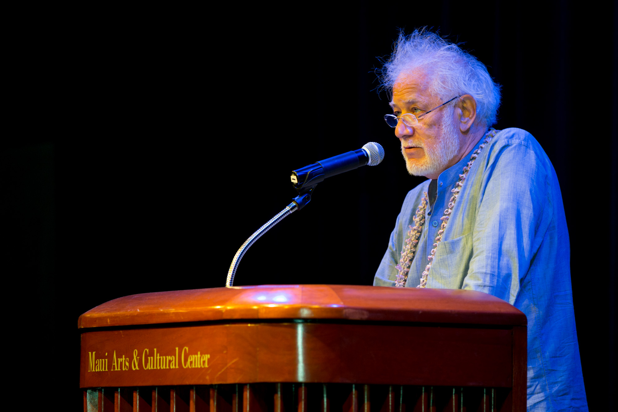 Michael Ondaatje reading from his works