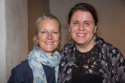 Karin Frost and Sara Tekula at Bill Porter in The Green Room