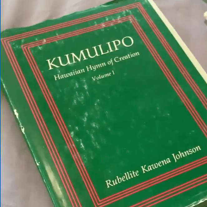 storied objects - kumulipo