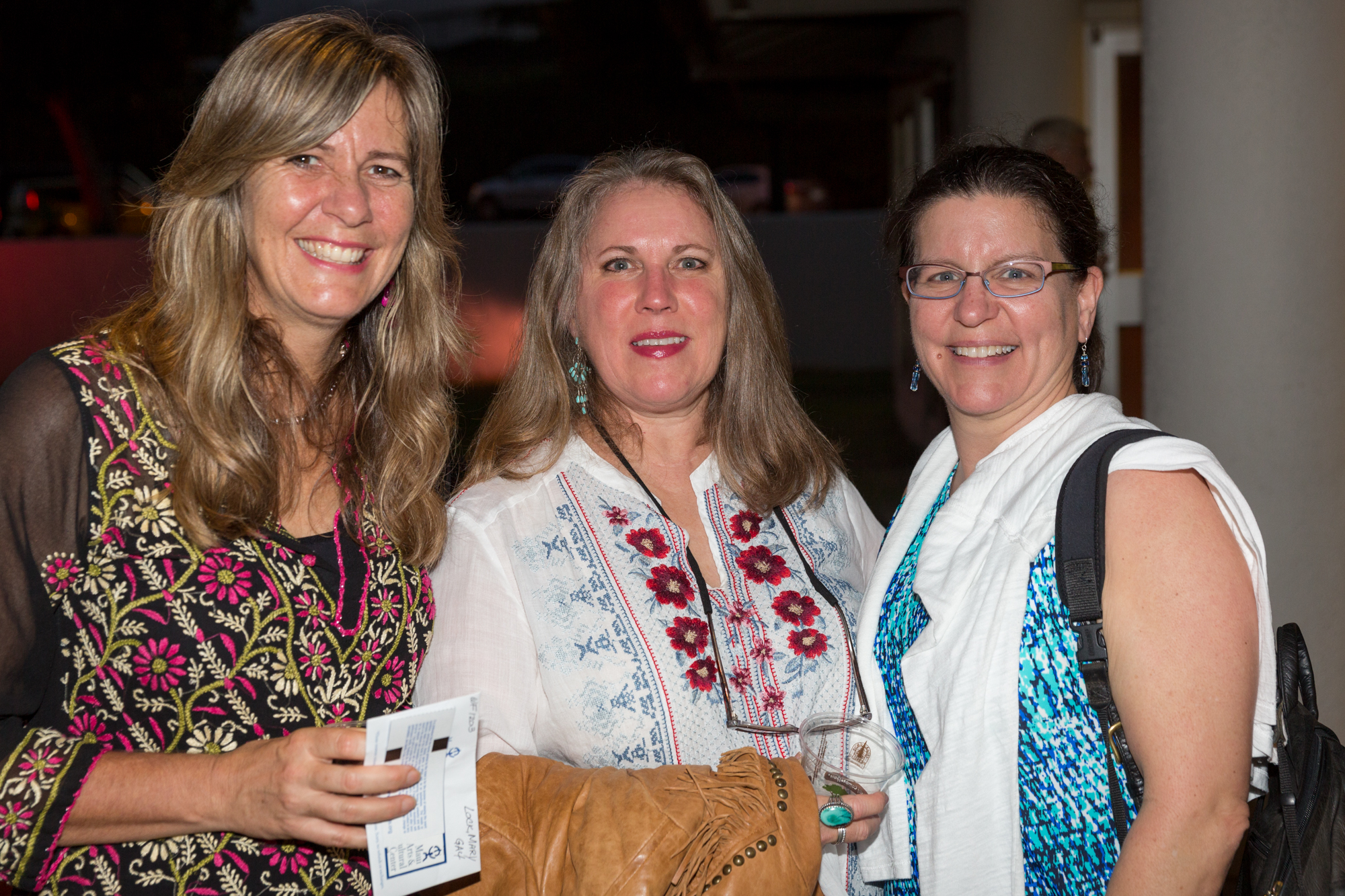 Mary Lock, Kathy Baldwin, and Sarah Cavanaugh at William Finnegan in The Green Room