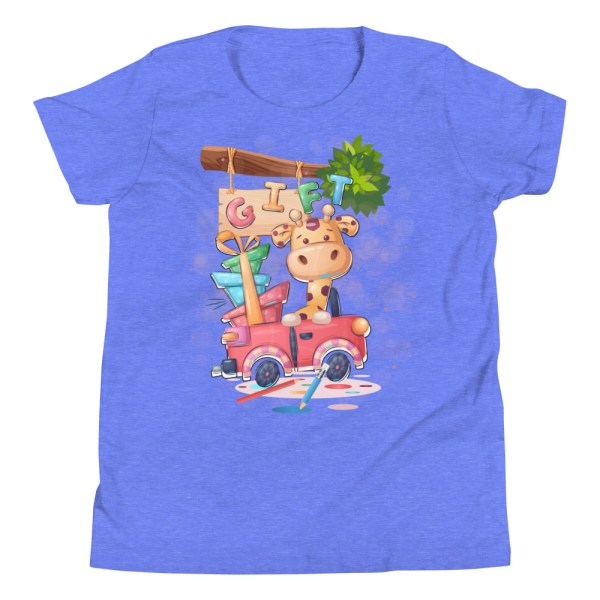 youth premium tee heather columbia blue front 6041a1af13623