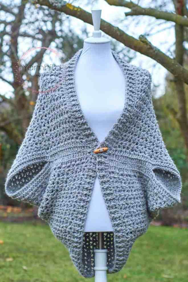 Gilet Au Crochet Facile Pour Femme Mery Crochet