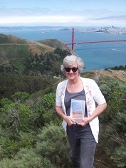 With Abigail at the Marin Headlands