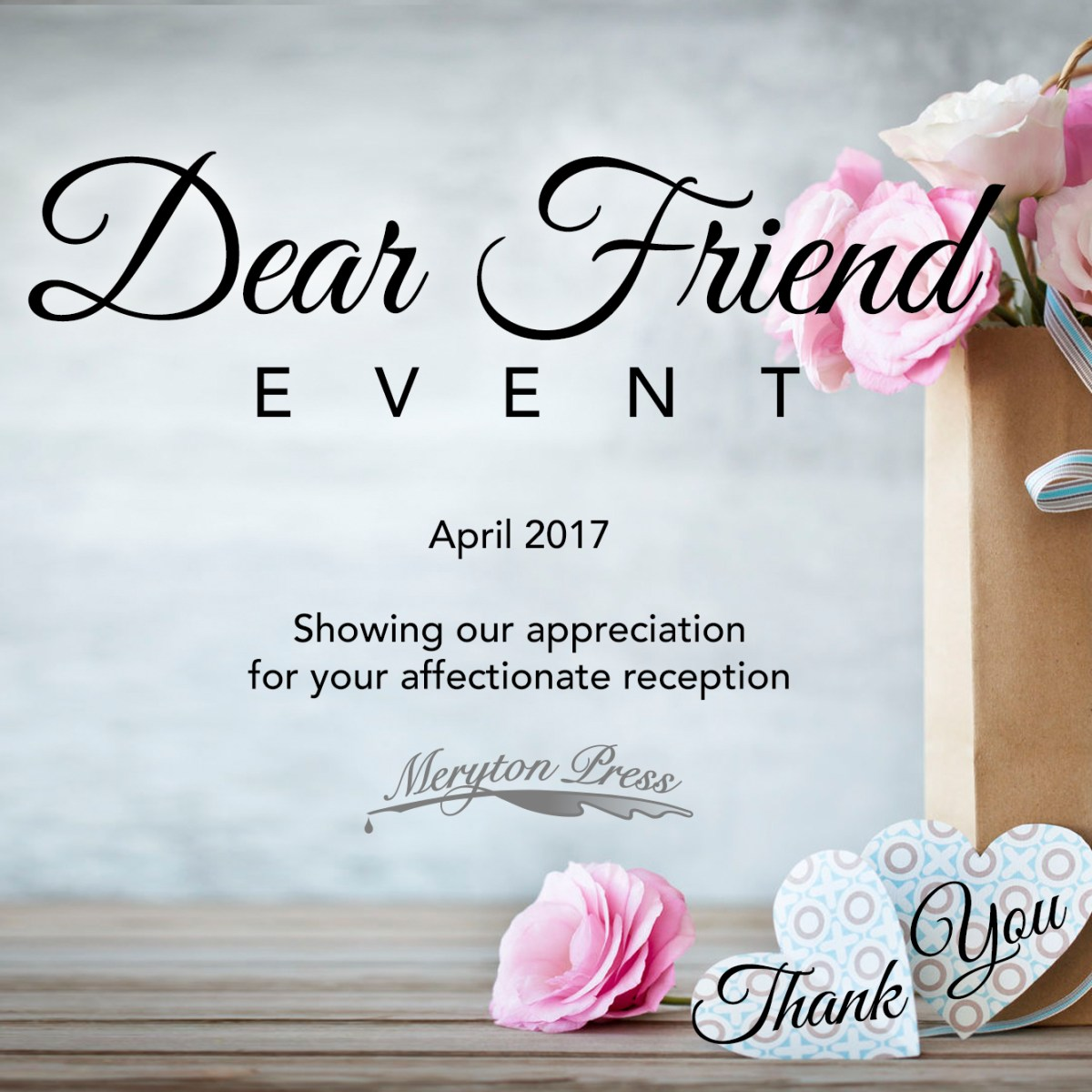Dear Friend Event