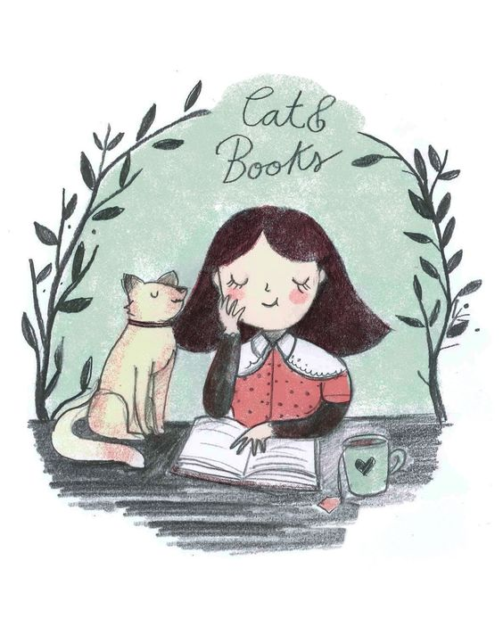 What is it with books and cats?