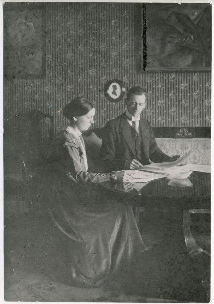 Kurt and Helma, 1918. Photos courtesy of the Kurt und Ernst Schwitters Archiv, Sprengel Museum, Hanover.