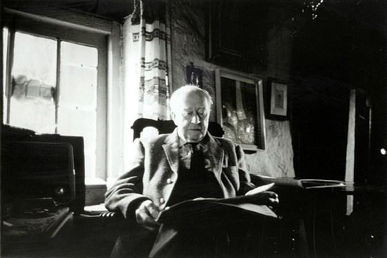 Harry Pierce in Ivy Cottage, c. 1952. Photo courtesy of William Pierce.