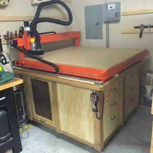 Garageworx CNC Table