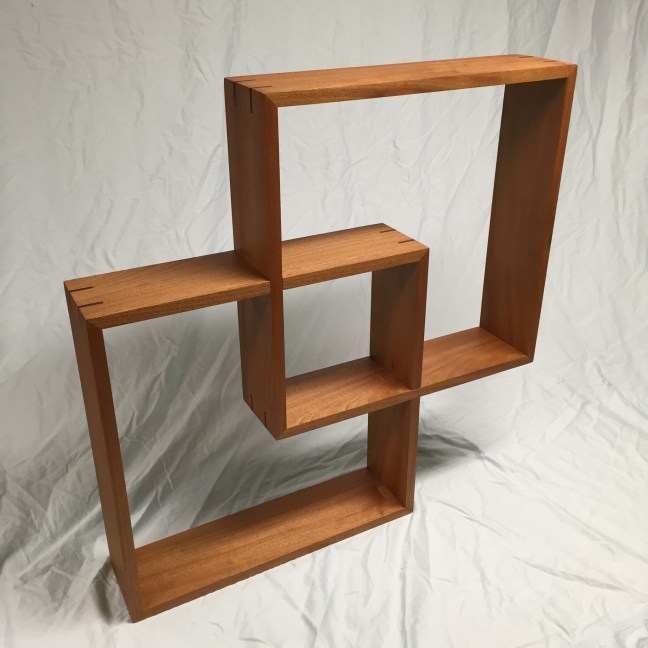 Intersecting Box Shelf