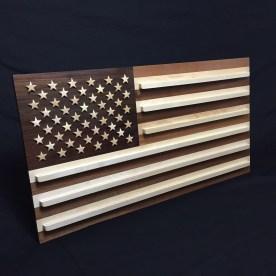 American Flag Coin Rack