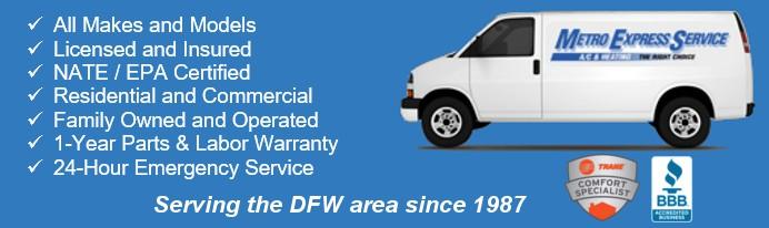 AC & Heating Repair, Installation & Maintenance DeSoto, TX