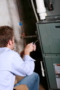 air conditioning and heating repair in Haltom City technician