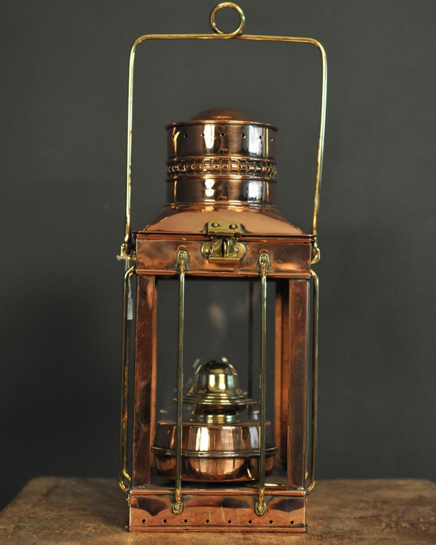 Ancienne Lampe Huile En Cuivre Et Laiton Mes Dcouvertes