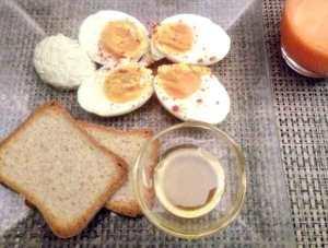 mon petit déjeuner pour être en forme