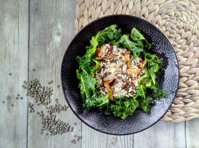 poelee vegetarienne aux proteines vegetales