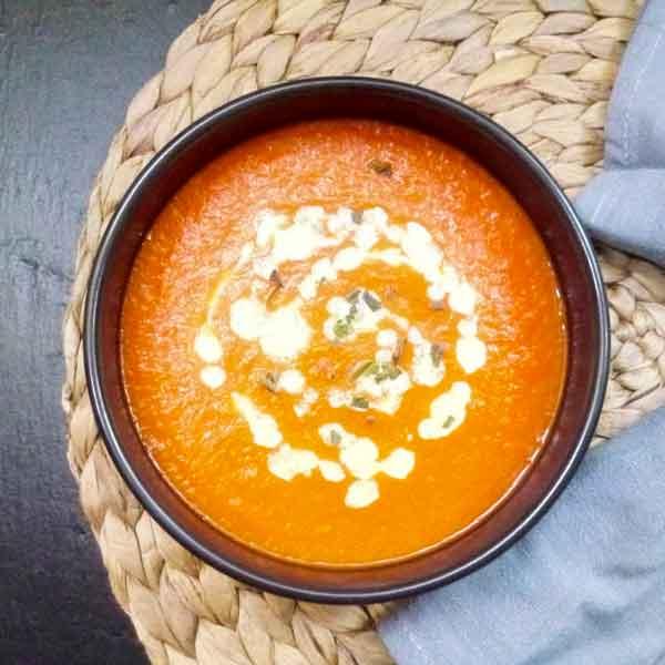 recette soupe velouté potimarron chataigne
