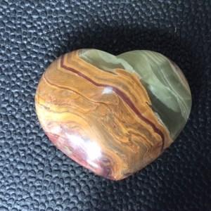 Coeur onyx vert