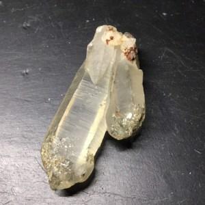 Pointes de quartz naturelles
