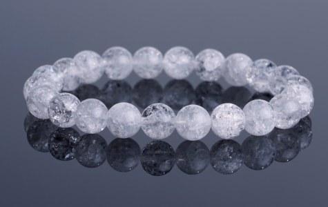 naramok kristal praskany