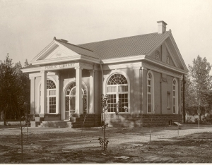 Carnegie Library, 1901, corner of 7th and Grand