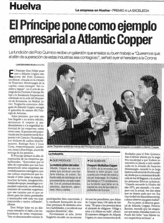 2003-12-16-PREMIO PRINCIPE FELIPE -EXCELENCIA EMPRESARIAL-2- PARA SIEMPRE ALLI