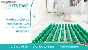 R$ 50 em Produtos e Remedios Manipulados (Artymed)
