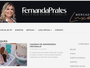 01 materia no portal Fernandaprates.com.br