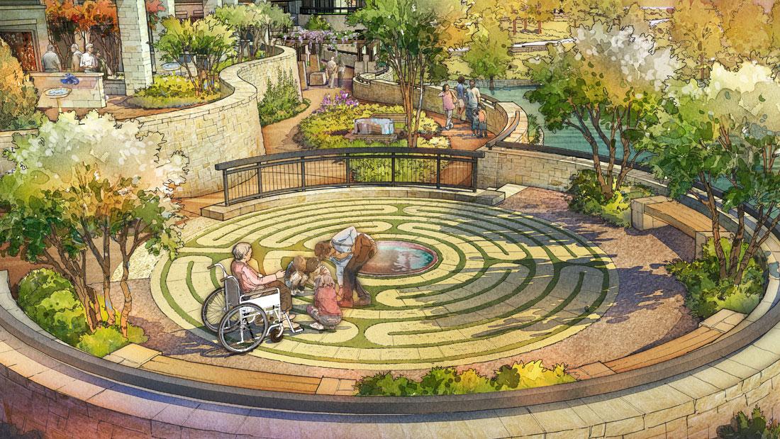 Portfolio T Boone Pickens Hospice Mesa Landscape