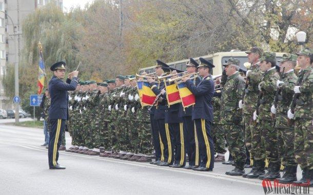 Ziua Armatei Române, sărbătorită la Sfântu Gheorghe